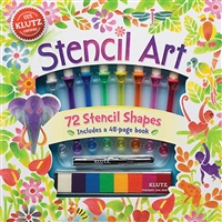 STENCIL KIT WITH INSTRUCTIONAL BOOK KP556166