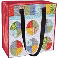 ECO TOTE JACK AND JILL W/ZIP MVCT20224-disc