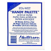 REFILL PAPERS FOR STA-WET HANDY PALETTE 857 ME857-1