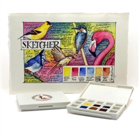 DANIEL SMITH WATERCOLOR SET - 1/2 PAN SKETCHER SET/6 DJ285650005