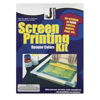SCREEN PRINTING INK KIT - PROFFESIONAL OPAQUE COLORS JACQUARD JAJSI9001