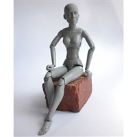 MANIKIN GREY FEMALE ARTSBUCK MVSS1202-DISC