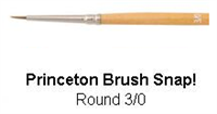 BRUSH 9650R 3/0 SNAP ROUND 9650R3/0