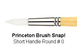 BRUSH 9850R0 0 SNAP PRINCE ROUND 9850R0
