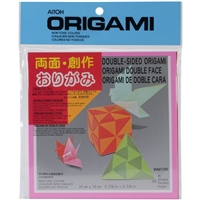 ORIGAMI DOUBLE SIDED 6 INCH 36 SHEETS - AIWM100