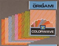 ORIGAMI PAPER THE WAVE 5 7/8 INCH 40 SHEETS AIWV200