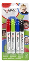 PEOPLE PAINT MARKER SET 4/PK 2 DPPPMK02