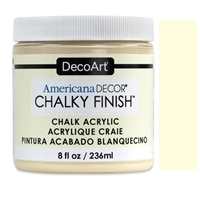 AMERICANA CHALKY FINISH PAINT 8OZ WHISPER DPADC03-36