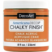 AMERICANA CHALKY FINISH PAINT 8OZ HERITAGE DPADC09-36