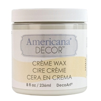 DECOR CREME WAX 8OZ CLEAR DPADM01-36
