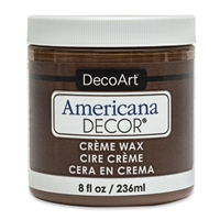 DECOR CREME WAX 8OZ DEEP BROWN DPADM07-36