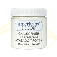 AMER CHALK PAINT 4OZ LACE WHITE DPADC02-96