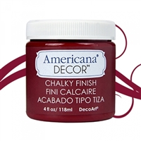 AMER CHALK PAINT 4OZ ROUGE DPADC07-96
