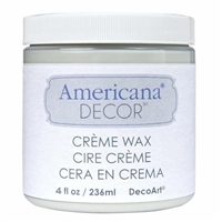 DECOR CREME WAX 4OZ CLEAR DPADM01-96
