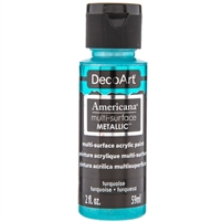 MULTI-SURFACE 2OZ METALLIC TURQUOISE DPDA803-30