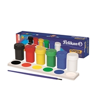 TEMPERA SET PELIKAN 6 COLORES BASICOS 40480010