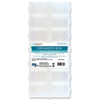 ORGANIZER BOX 9 x 4x1 INCHES 14-COMP MQPB803