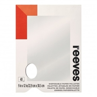 PALETTE DISPOSABLE REEVES TEAR OFF RC8490926
