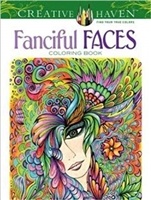 BOOK CREATIVE HAVEN - FANCIFUL FACES DO77935-1