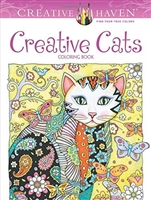BOOK CREATIVE HAVEN - CREATIVE CATS DO78964-0