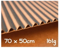 CORRUGATED CARDBOARD BROWN E-161-8054