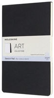 MOLESKIN SKETCH PAD - ART COLLECTION 5X8.25 BLACK MF2682-6
