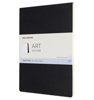 MOLESKIN SKETCH PAD - ART COLLECTION 8.3x11.7 A4 BLACK MF2685-7