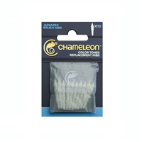 MARKER CHAMELEON REPLACEMENT BRUSH NIBS 10PK CJCT9501