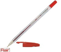PEN SIERRA INOXCROM RED 028383