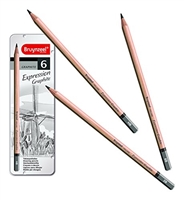 EXPRESSION GRAPHITE DRAWING PENCIL SET OF 6 TN7715M06