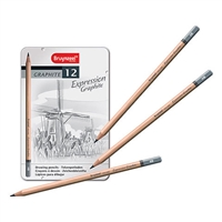 EXPRESSION GRAPHITE DRAWING PENCIL SET OF 12 TN7715M12