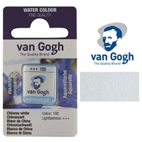 VAN GOGH WC HALF PAN CHINESE WHITE - 108 TN20861080