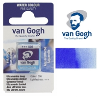 VAN GOGH WC HALF PAN ULTRAMARINE DEEP - 506 TN20865060