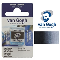 VAN GOGH WC HALF PAN PAYNES GREY - 708 TN20867080