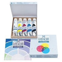 GOUACHE SET ROYAL TALENS - EXTRA FINE MIXING 5 TUBE SET TN08820407