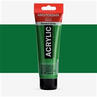 AMSTERDAM ACRYLIC 120ML PERMANENT GREEN LIGHT TN17096182