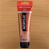 AMSTERDAM ACRYLIC 120ML 811 METALLIC BRONZE TN17098112