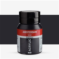 AMSTERDAM ACRYLIC 500ML LAMP BLACK TN17727022