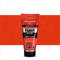 AMSTERDAM EXPERT ACRYLIC 75ML CADMIUM RED LIGHT TN19113030