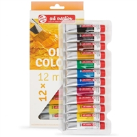 OIL PAINT SET ART CREATION 12x12ML TN9020112M