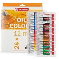 OIL PAINT SET ART CREATION 24x12ML TN9020124M