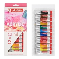 ACRYLIC PAINT SET ART CREATION 12x12ML TN9021712M