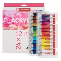 ACRYLIC PAINT SET ART CREATION 24x12ML TN9021724M