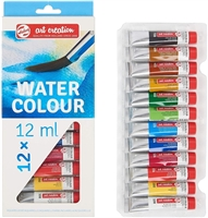 WATERCOLOR SET ART CREATION 12x12ML SET TN9022012M