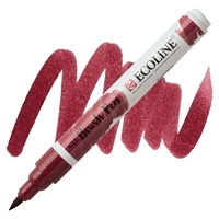 MARKER ECOLINE WC BRUSH PEN RED BROWN TN11504220