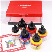 INK SET AMSTERDAM COMBI BASIC SET - 30ML SET/6 TN17209001