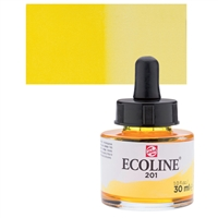 ECOLINE WC 30ML W/DROPPER 201 LIGHT YELLOW TN11252011