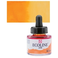 ECOLINE WC 30ML W/DROPPER 236 LIGHT ORANGE TN11252361