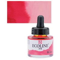 ECOLINE WC 30ML W/DROPPER 318 CARMINE TN11253181