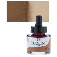 ECOLINE WC 30ML W/DROPPER 416 SEPIA TN11254161